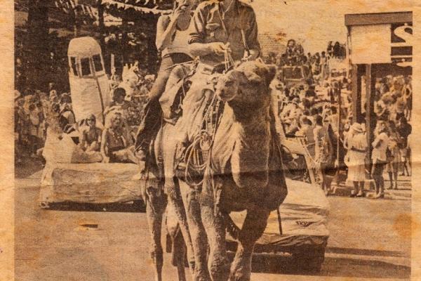 Barry Ferrier Camels Oleander Festival Byron Bay