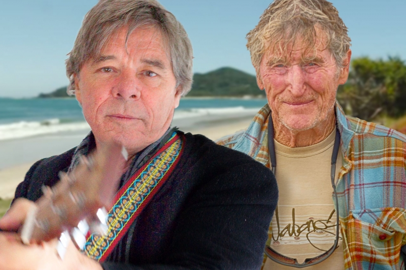 "Barry Ferrier & US Surfing Champion - teamed up in 1981 to form ""Soft Surfing""Rusty Miller"