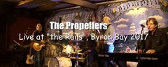 """Phone Booth"" The Propellers - Robert Cray Cover, Blues Live @ The Rails, Byron Bay, Sept 2017"